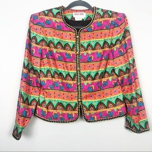 VINTAGE Maggy London | Colorful Blazer